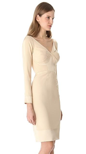 Zac Posen Long Sleeve Dress