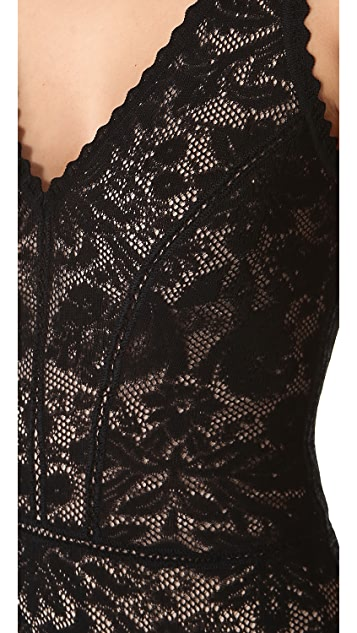Zac Posen Sleeveless Lace Dress