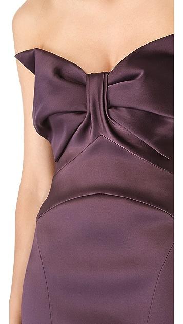 Zac Posen Strapless Gown