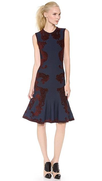 Zac Posen Sleeveless Knit Dress