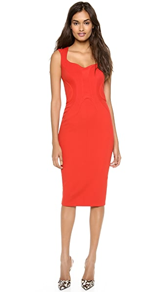 Zac Posen Sleeveless Jersey Dress