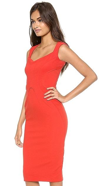 Zac Posen Sleeveless Jersey Dress