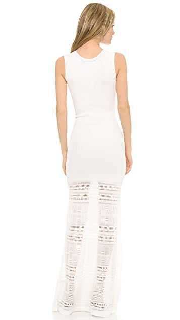 Zac Posen Knit Sleeveless Dress
