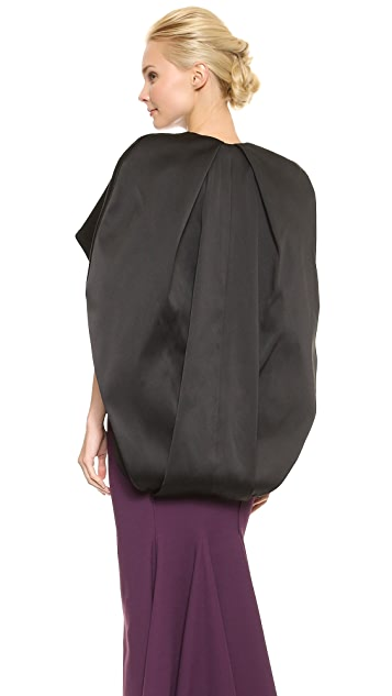 Zac Posen Stretch Duchesse Coat