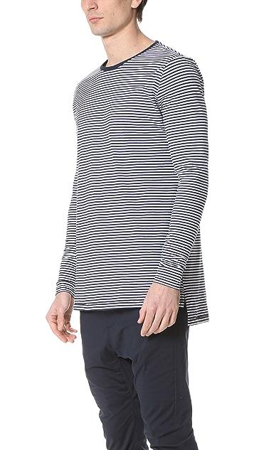 Zanerobe Stripe Flintlock Long Sleeve Tee