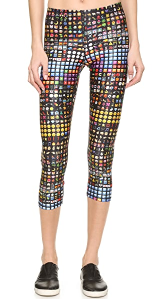 Terez Conversation Performance Capris - Multi