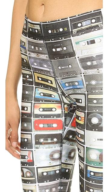 Terez Mix Tapes Performance Capri Leggings
