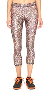 Glitter Capri Leggings                Zara Terez