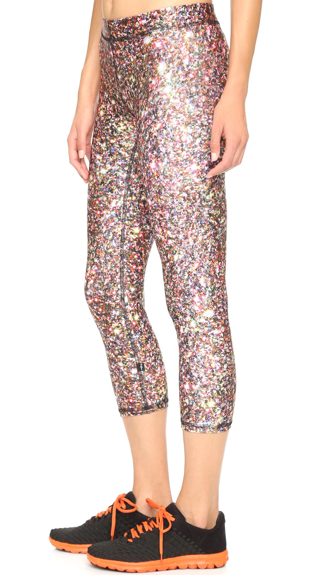 299fa2168c736 Terez Glitter Capri Leggings | SHOPBOP
