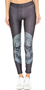 Crystal Skull Performance Leggings                Zara Terez