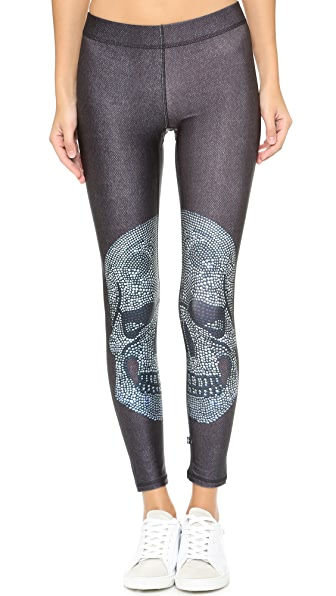 CRYSTAL SKULL PERFORMANCE LEGGINGS
