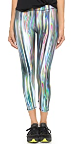 Rainbow Metal Performance Leggings                Zara Terez