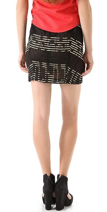 Zero + Maria Cornejo Tate Skirt