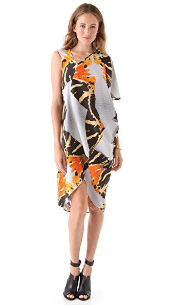 Zero + Maria Cornejo Long Cade Dress