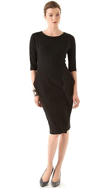 Zero + Maria Cornejo Seamed Kutu Dress