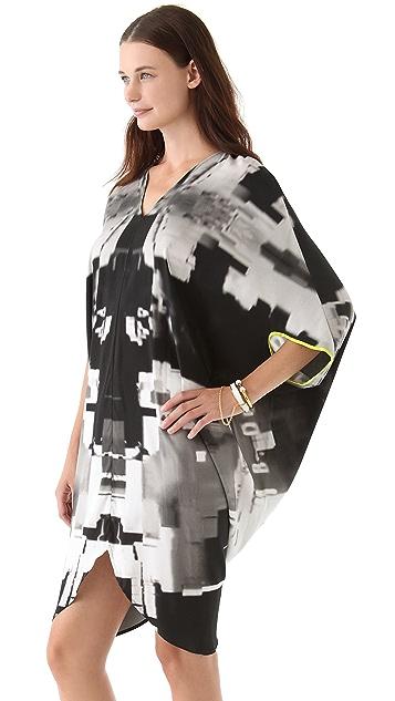 Zero + Maria Cornejo Graphic Printed Koya Dress