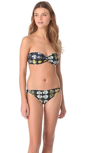 Zero + Maria Cornejo Belu Bandeau Bikini Top