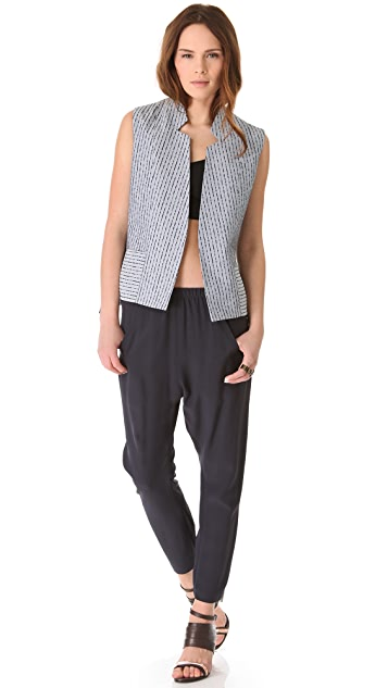Zero + Maria Cornejo Liad Waistcoat Vest
