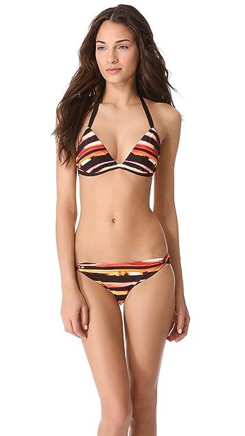 Zero + Maria Cornejo Asia Halter Bikini Top