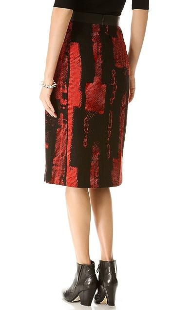 Zero + Maria Cornejo Frente Skirt