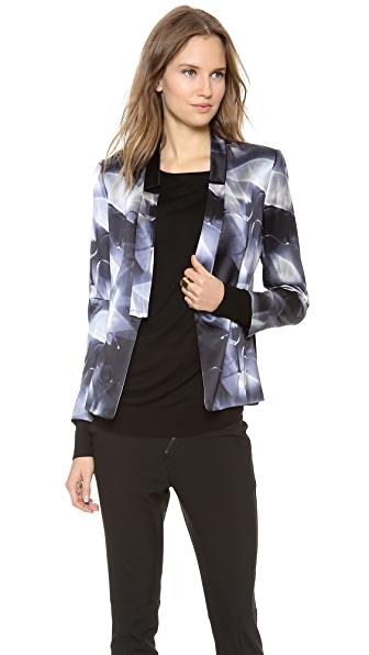 Zero + Maria Cornejo Kinetic Light Print Nia Blazer