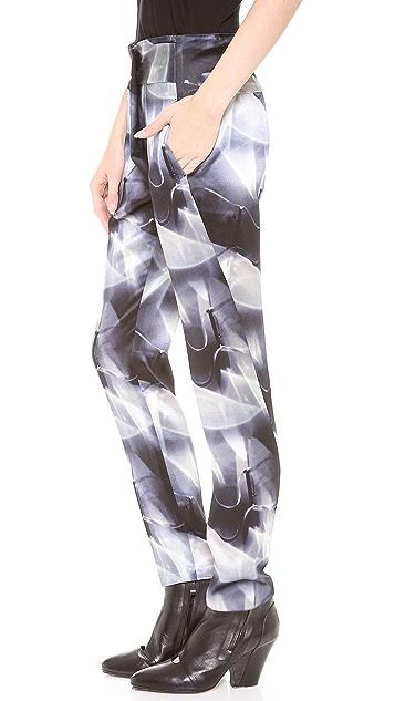 Zero + Maria Cornejo Kinetic Light Print Zani Pants