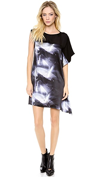 Zero + Maria Cornejo Kinetic Light Print Contro Dress