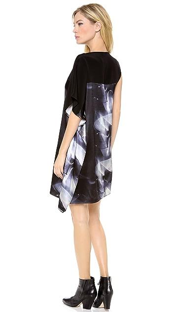 Zero + Maria Cornejo Kinetic Light Print Contro Dress