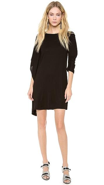 Zero + Maria Cornejo Contra Mini Dress