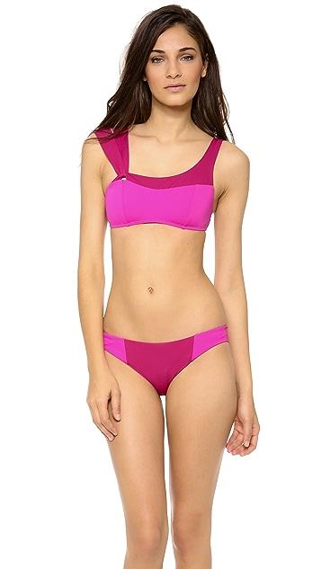 Zero + Maria Cornejo Colorblock Bikini Bottoms