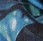 Geo Tree Print/Blue