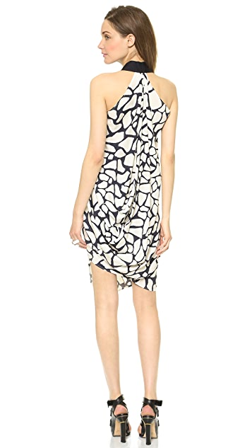 Zero + Maria Cornejo Pebble Print Ibit Dress