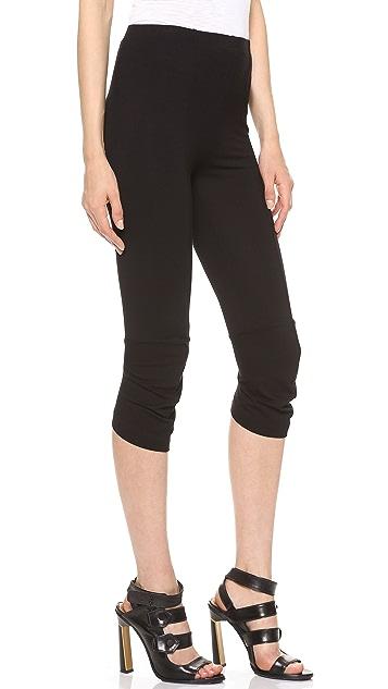 Zero + Maria Cornejo Sim Crop Knee Pants