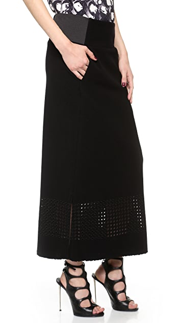 Zero + Maria Cornejo Long Dara Skirt
