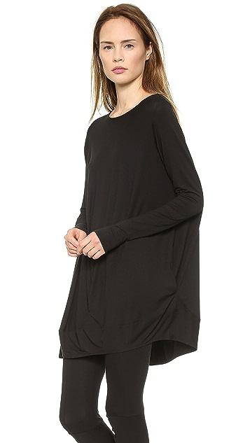 Zero + Maria Cornejo Long Sleeve Off Shoulder Tunic