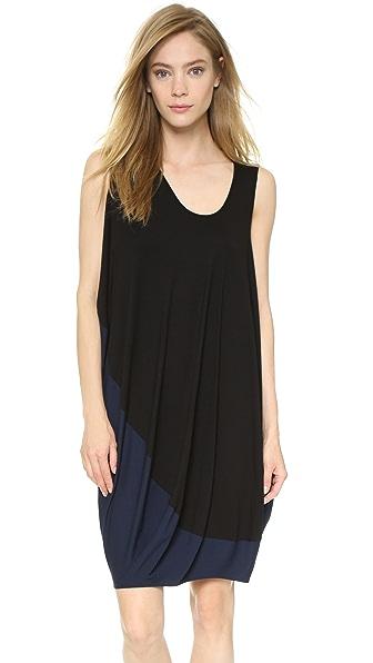 Shop Zero + Maria Cornejo online and buy Zero + Maria Cornejo Pod Bubble Dress Black-Marine dresses online