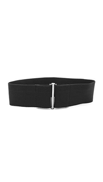 Zero + Maria Cornejo All Elastic Zumi Belt - Black