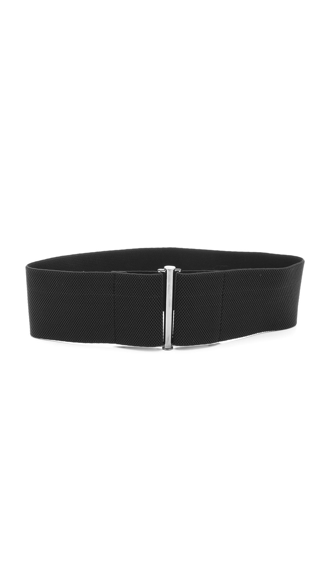 Zero + Maria Cornejo All Elastic Zumi Belt - Black at Shopbop