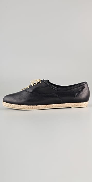Zespa Richelieu Lace Up Oxfords