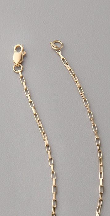 Jennifer Zeuner Jewelry Hanging Butterfly Necklace