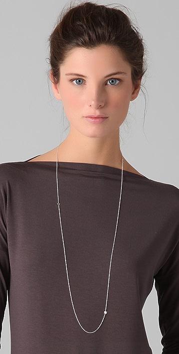 Jennifer Zeuner Jewelry Triple Baby Star Necklace