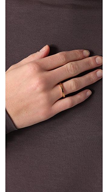Jennifer Zeuner Jewelry Thin Band Ring