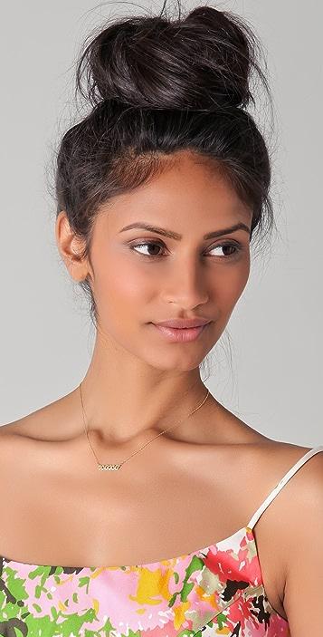 Jennifer Zeuner Jewelry Mini XOXO Necklace