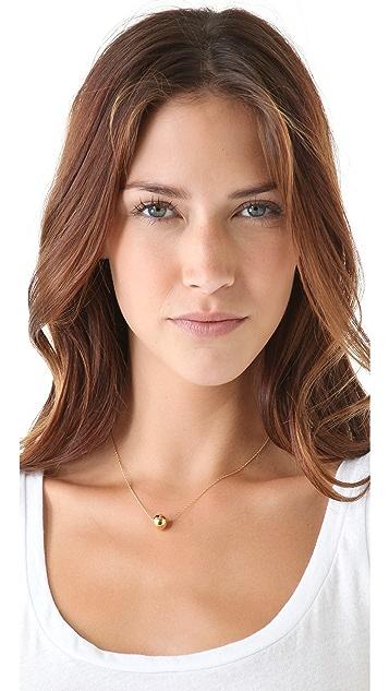 Jennifer Zeuner Jewelry Medium Ball Necklace