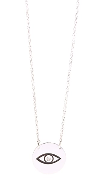 Jennifer Zeuner Jewelry Diamond Eye Necklace