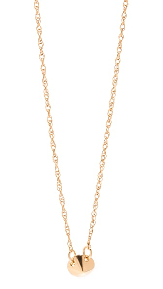 Jennifer Zeuner Jewelry Tiny Stud Necklace