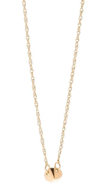 Jennifer Zeuner Jewelry Tiny Stud Necklace