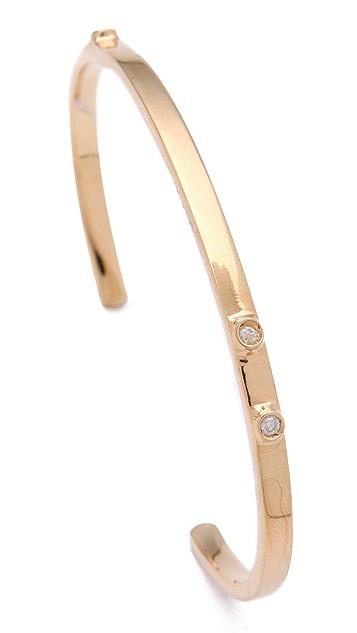 Jennifer Zeuner Jewelry Skinny Diamond Bangle