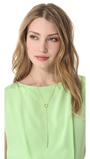 Jennifer Zeuner Jewelry Harper Chelsea Lariat Necklace