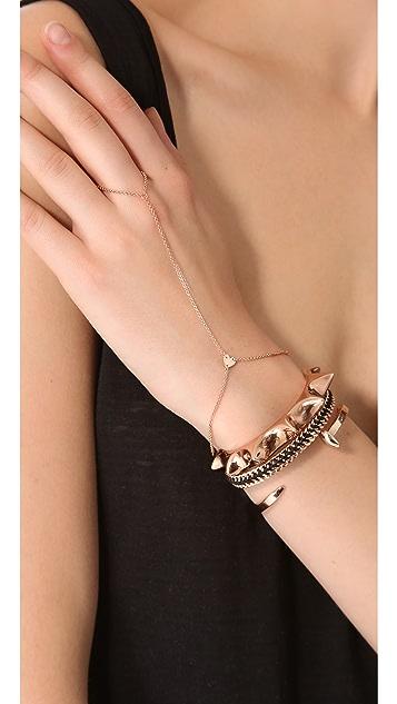 Jennifer Zeuner Jewelry Mini Mia Hand Chain